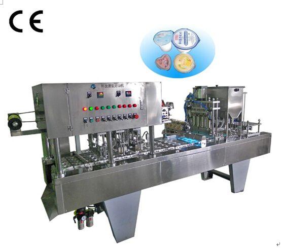multifunctional big model glass water cup filling sealing machine