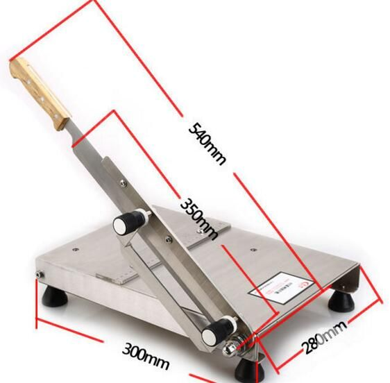 manual model nougat candy cutting machine