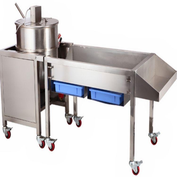 gas automatic caramel popcorn making machine