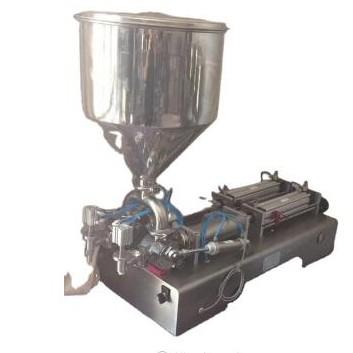 stainless steel chocolate cream paste filling machine