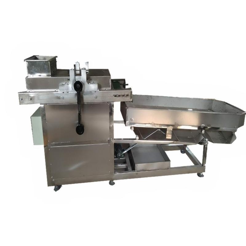 commercial peanut cashew nut cutting sorting machine