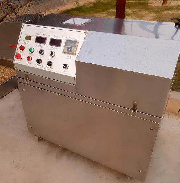 automatic corn puffing extruder making machine