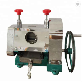 best prices manual sugar cane press juicer maker machine