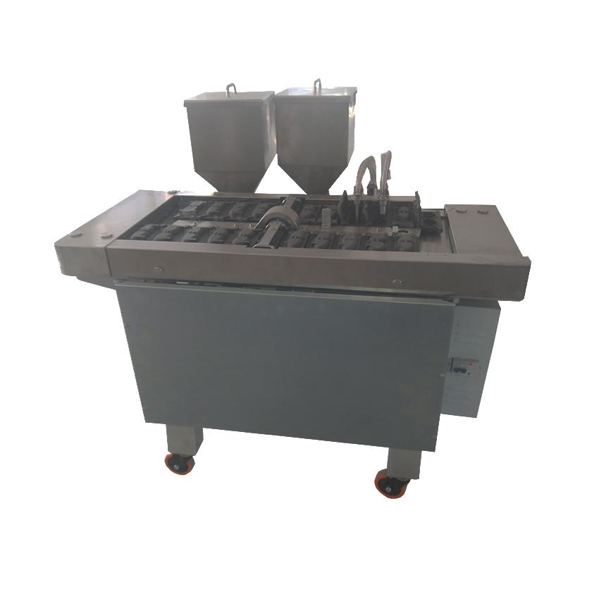Automatic Korean Panda Shape Corn Shape Delimanjoo Cake Making Machine