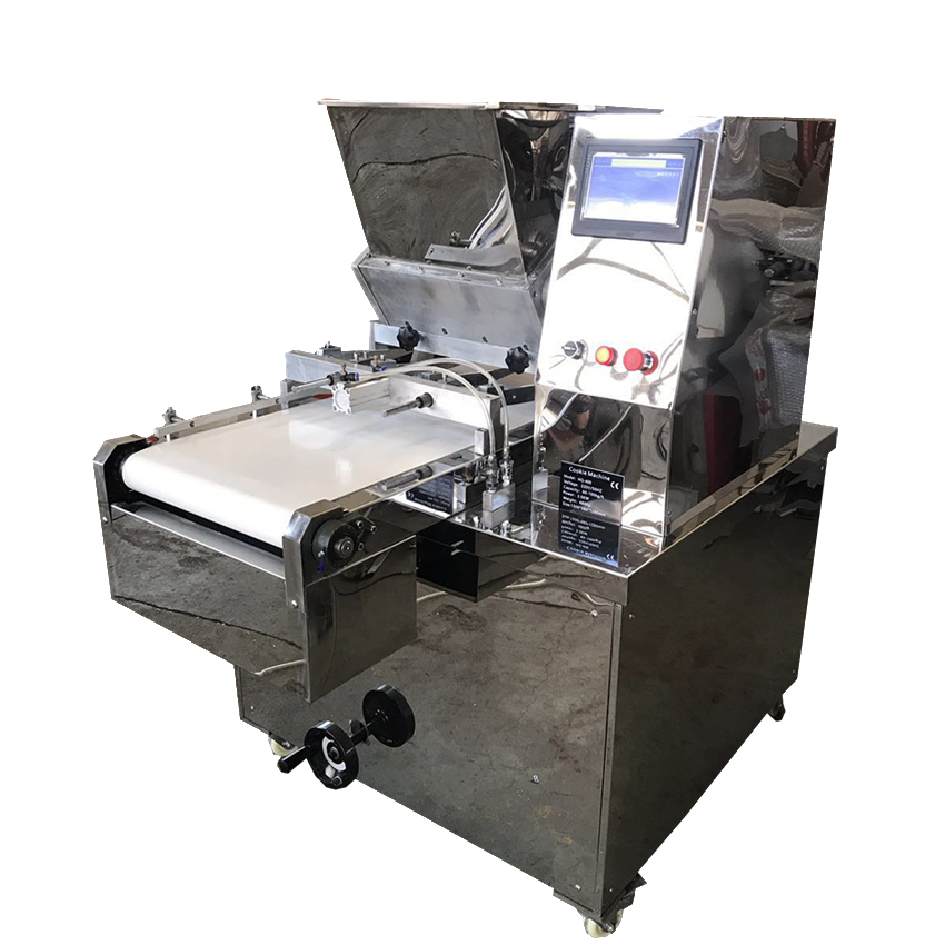 commercial cookie cutters making cookies depositor maker machine