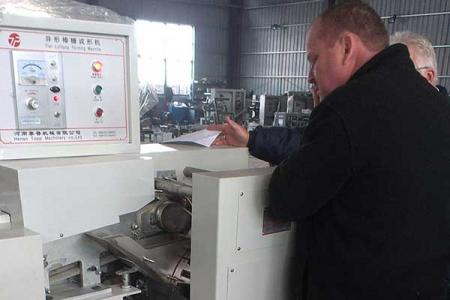 South African customers buy lollipop production lines