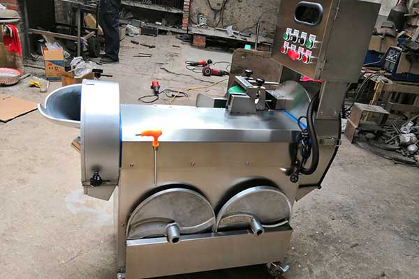 Multifunctional Double Frequency Vegetable Cutting Machine