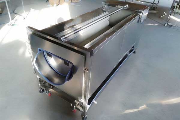 Brush Washing Machine for Fruit and Vegetables
