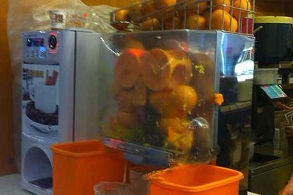Multifunction Fresh Citrus Fruit Juice Extractor machine