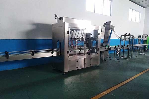 Automatic Juice Bottle Filling Production Line