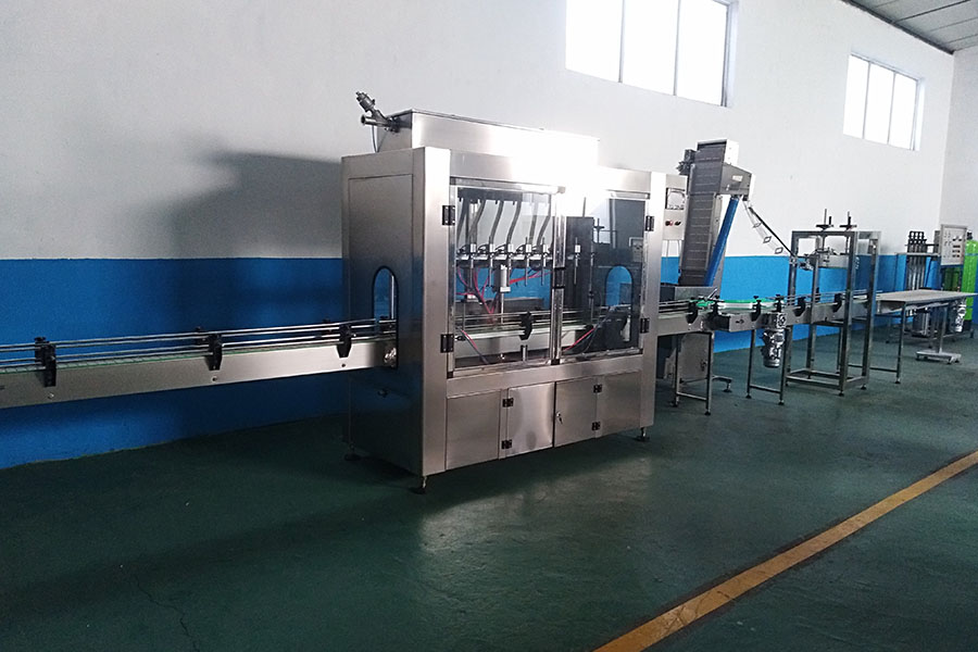 Automatic Bottle Water Filling Line