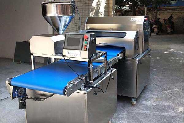 industrial high capacity swiss roll cake making machines