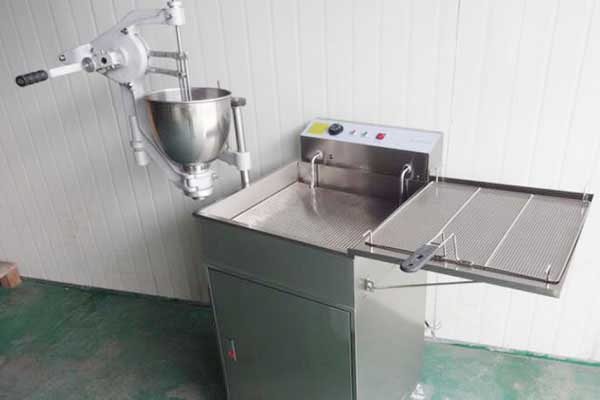 Stainless Steel Automatic Donut Maker Machine