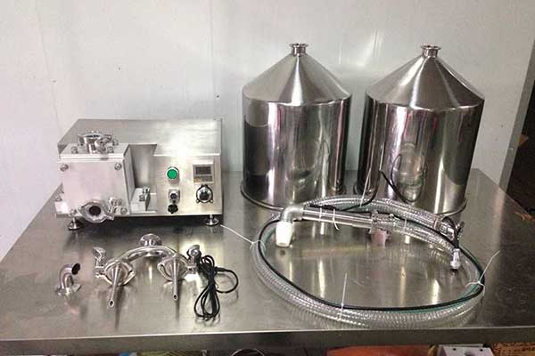 Small Electric Model Automatic Cake Injection Filling Machine